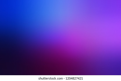 Dark Pink, Blue vector glossy abstract cover. A vague abstract illustration with gradient. The template can be used as a background of a cell phone.