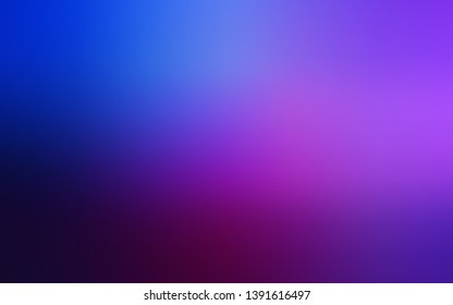 Dark Pink, Blue vector glossy abstract layout. An elegant bright illustration with gradient. Smart design for your work.