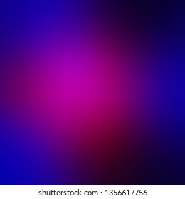 Dark Pink, Blue vector smart blurred template. Colorful abstract illustration with gradient. Sample for your web designers.