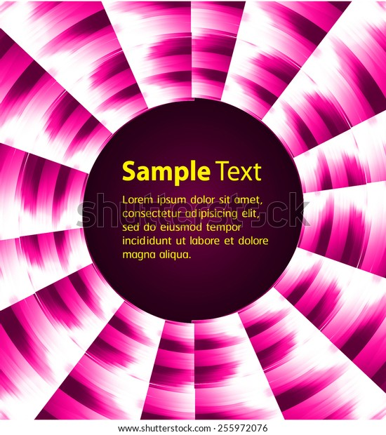 Dark pink Light Abstract Technology background for computer graphic website internet and business. circle text box. Brochure. card. wave
