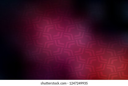 Dark Pink vector pattern with liquid shapes. A completely new color illustration in marble style. A new texture for your  ad, booklets, leaflets.