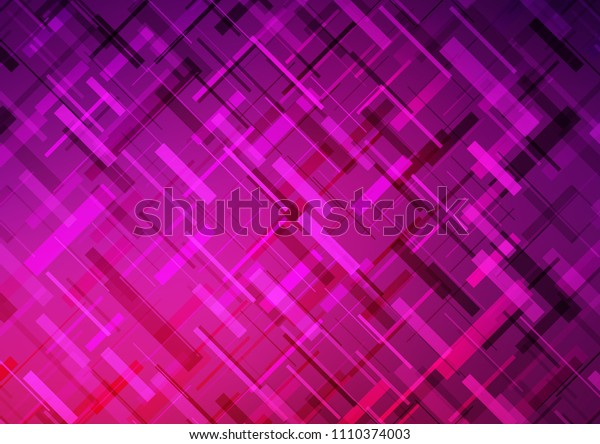 Dark Pink vector pattern with narrow lines. Decorative shining illustration with lines on abstract template. The pattern can be used for websites.