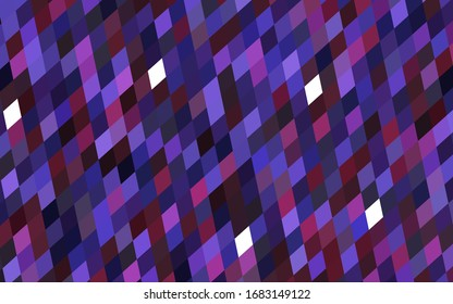 Dark Purple, Pink vector background of rectangles and squares. Style quilt and blanket. Geometrical rectangular pattern. Repeating pattern with rectangle shapes.
