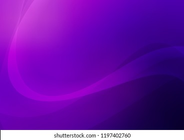 Dark Purple, Pink vector pattern with lamp shapes. Creative geometric illustration in marble style with gradient. A completely new marble design for your business.