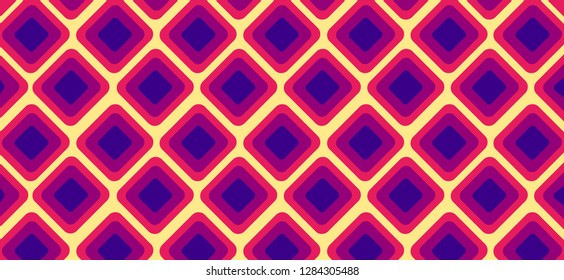 Dark Purple, Pink yellow vector texture with disks. Blurred box on abstract background with colorful gradient. Completely New design for ad, poster, banner of your website