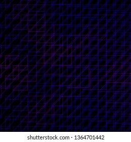 Dark Purple vector backdrop with lines. Modern abstract illustration with colorful lines. Pattern for ads, commercials.