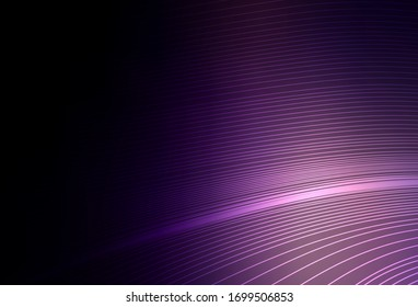 Dark Purple vector blurred template. Colorful abstract illustration with gradient. Elegant background for a brand book.