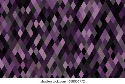 Dark Purple vector blurry triangle background. Shining colored illustration in a brand-new style. The polygonal design can be used for your web site.