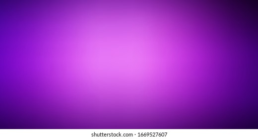 Dark Purple vector colorful blur background. Abstract illustration with gradient blur design. Smart design for your apps.