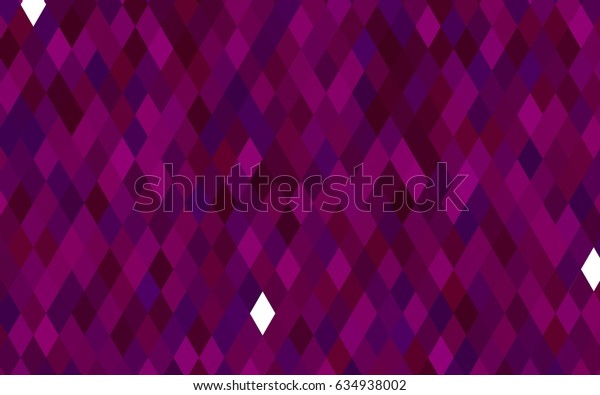 Dark Purple vector polygon abstract pattern. A sample with polygonal shapes. A completely new template for your business design.