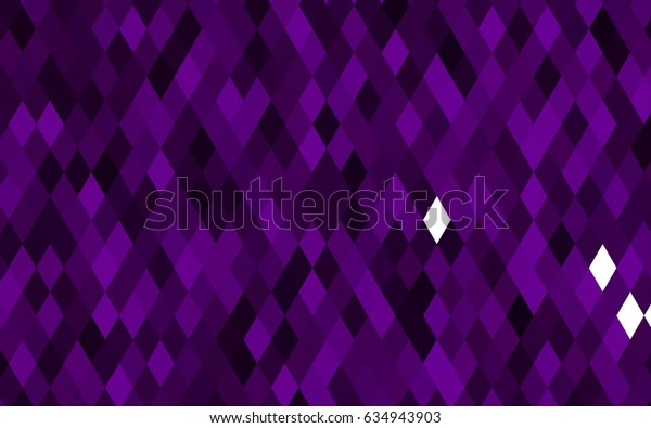 Dark Purple vector polygon abstract pattern. An elegant bright illustration with gradient. A new texture for your design.