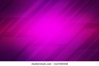 Dark Purple vector texture with colored lines. Blurred decorative design in simple style with lines. Template for your beautiful backgrounds.