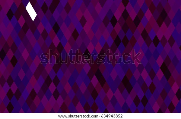 Dark Purple vector triangle mosaic pattern. Creative illustration in halftone style with gradient. A new texture for your design.