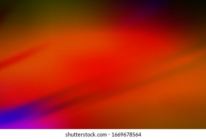 Dark Red vector abstract bright texture. Modern abstract illustration with gradient. New design for your business.
