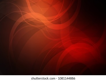 Dark Red vector background with bent lines. Shining crooked illustration in marble style. A new texture for your  ad, booklets, leaflets.
