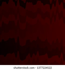 Dark Red vector background with bent lines. Brand new colorful illustration with bent lines. Best design for your ad, poster, banner.