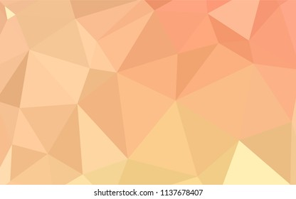 Dark Red vector polygon abstract backdrop. Colorful abstract illustration with triangles. Template for cell phone's backgrounds.