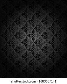 Dark retro wallpaper background pattern