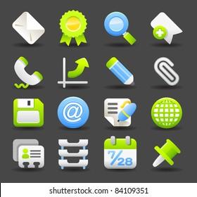 Dark series | business , office,work icon set