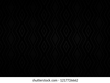 Dark Silver, Gray vector backdrop with lines, cubes. Glitter abstract illustration with colorful lines, rhombuses. Backdrop for TV commercials.