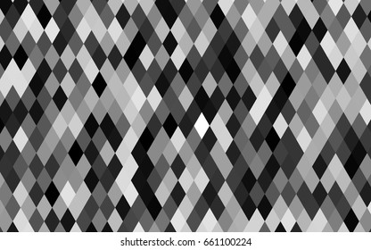Dark Silver, Gray vector shining triangular background. Shining colored illustration in a brand-new style. The template can be used as a background for cell phones.