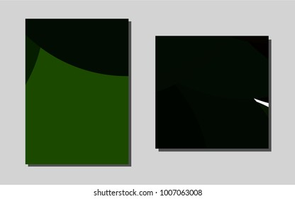 Dark Silver, Grayvector cover for Envelopes. Web interface on abstract background with colorful gradient. Pattern for ads, leaflets, labels of your business.