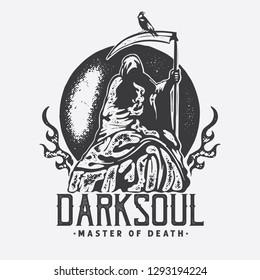 Dark Soul Rustic Logo