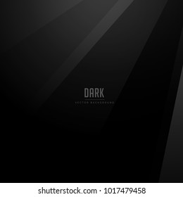 dark vector background with black shades