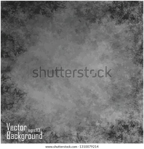 Dark Vector Grunge Texture Background Stock Vector (Royalty Free ...