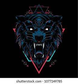 Dark Wolf Sacred Geometry