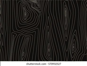 Dark wood texture. Abstract background, empty vector template