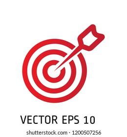 Dartboard icon design vector