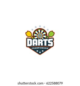 Darts badge logo