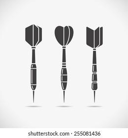 Darts icons.