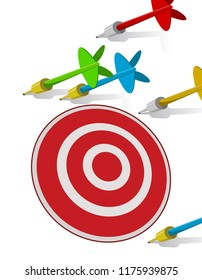 darts missing target