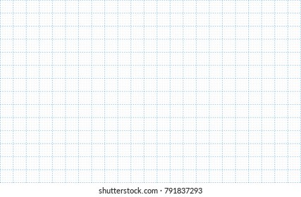 Dash graph paper grid lines