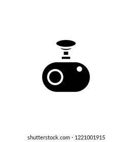 dashboard camera vector icon