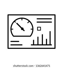 dashboard vector Icon