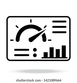 Dashboard Vector Icon for website or other thing.