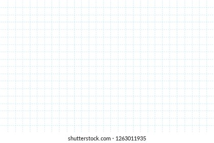 dashed line grid paper with white pattern background vector illustration eps10