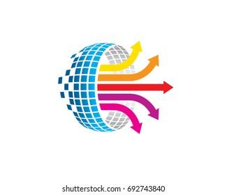 data analysis worksheet internet logo