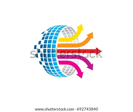 Data Analysis Worksheet Internet Logo Stock Vector (Royalty Free ...