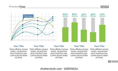 Data Chart Slide Template 1