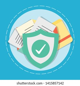 Data and Document protection concept.