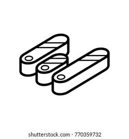 Data & Graphs ISO - Lozenge Bars