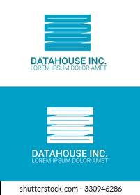 data house it server company logo design