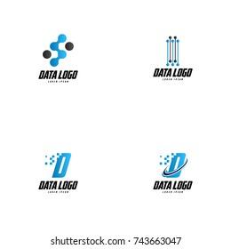 Data Logo Vector Art