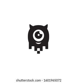 Data Monster logo / icon design