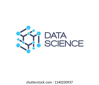Data science vector icon.