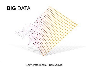 Data Sorting. From Chaos to System. Artificial intelligence.Big data.Smart
